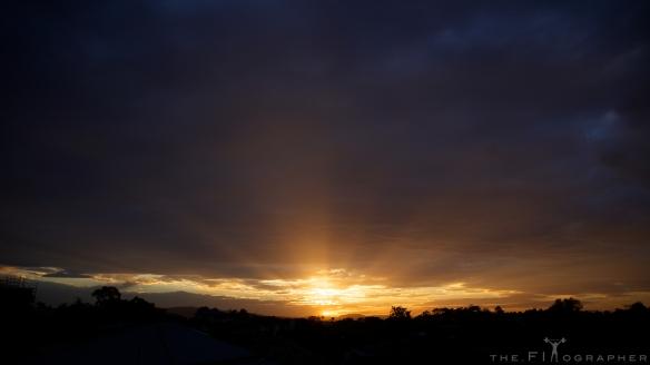 Sunset - Back Deck Series 1 1416